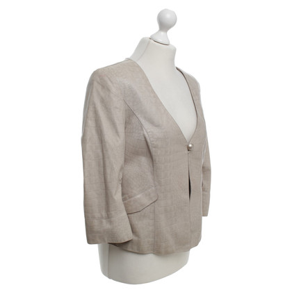 Giorgio Armani Jacket with reptile embossing