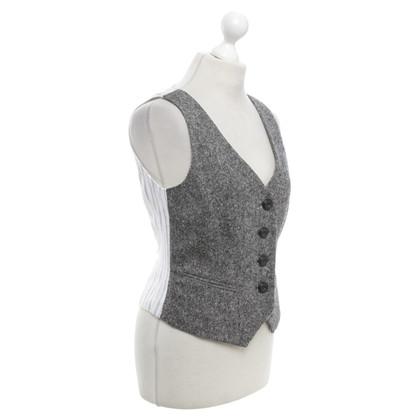 Hobbs Vest in zwart / White