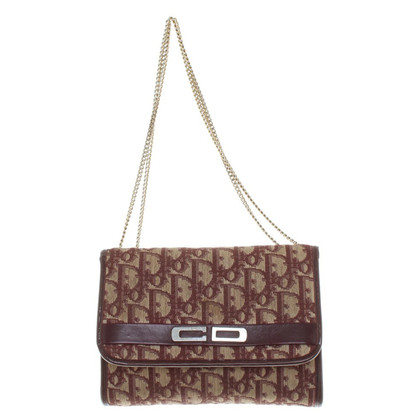 Christian Dior Shoulder bag with logo embroidery