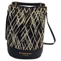 Burberry Prorsum Backpack with fur trim