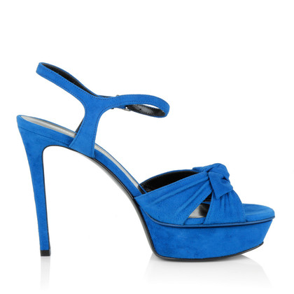 Saint Laurent Sandali blu