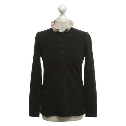 Burberry Long sleeve shirt in black