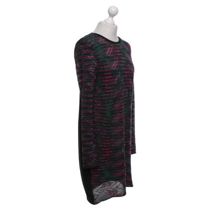 Missoni Robe en noir / multicolore