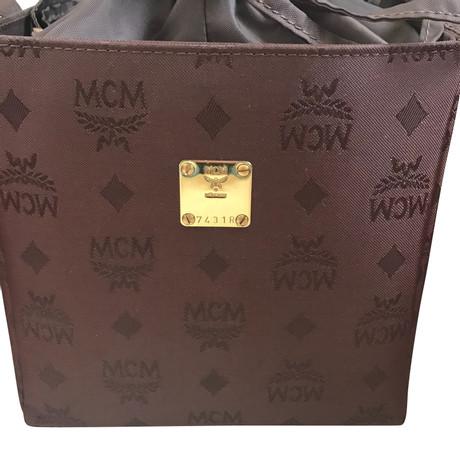 Heißen Verkauf Online MCM Beuteltasche Braun Mit Kreditkarte Günstig Online Großer Rabatt Auslauf AeQWHYPOM