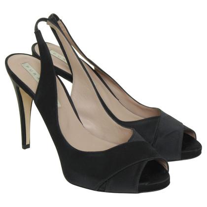 Pura Lopez Peep-dita dei piedi in nero
