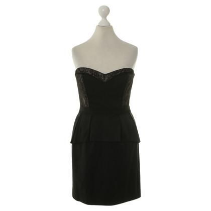 BCBG Max Azria Cocktail jurk in zwart