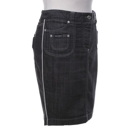 Dolce & Gabbana Gonna di jeans in grigio-blu