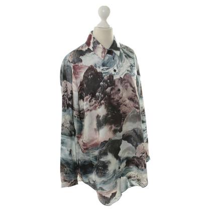 Carven Bluse mit Felsen-Print