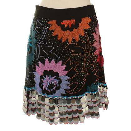 Matthew Williamson skirt with semi-precious stones