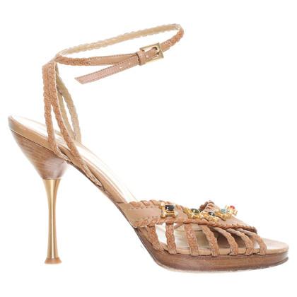 Valentino Sandals with semi-precious stones