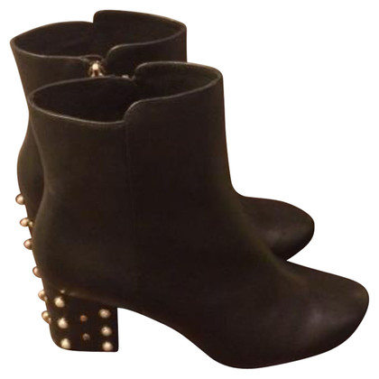 Minelli Black leather boots