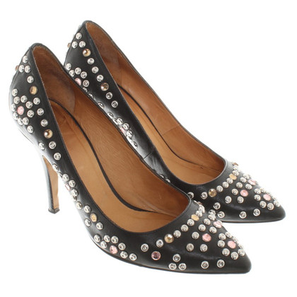 Isabel Marant pumps with jewelry