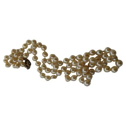Christian Dior collana di perle Gioielli