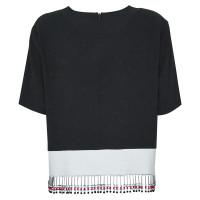 DKNY Zwart & wit overhemd