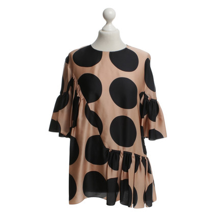 Stella McCartney Silk top with dots