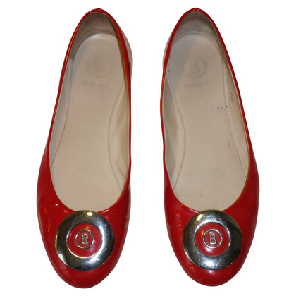 Bogner Ballerinas patent leather