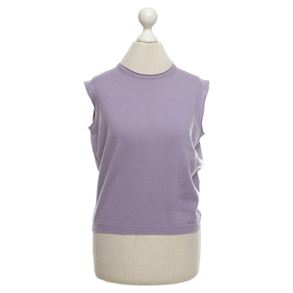 Jil Sander Cashmere sweater in purple