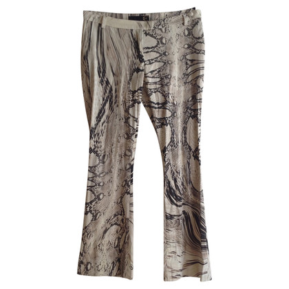 Just Cavalli trousers with snake print