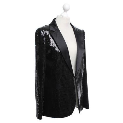 Karl Lagerfeld for H&M Blazer en noir sequin