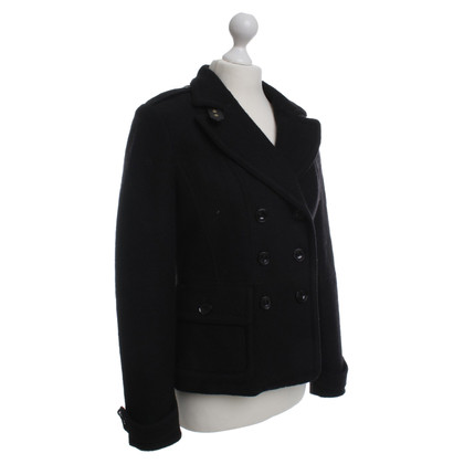 Burberry Wolljacke in Schwarz