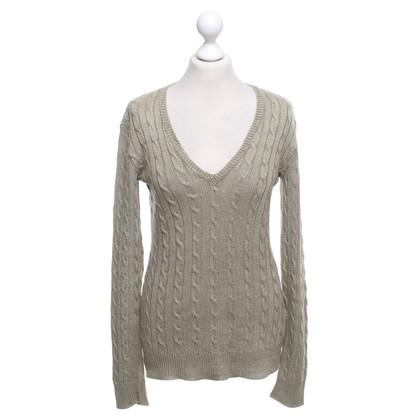Ralph Lauren maglione maglia in oliva