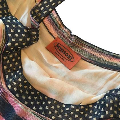Missoni Robe à bretelles en multicolore