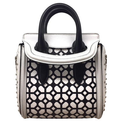 "Alexander McQueen ""Mini geometric studded heroine bag"""
