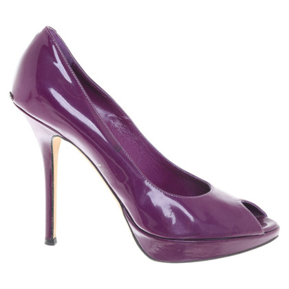 Christian Dior Patent leather peep-toes