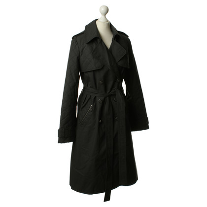 Luella Trench coat in nero