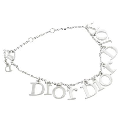 Christian Dior Bracciale con lettering del logo