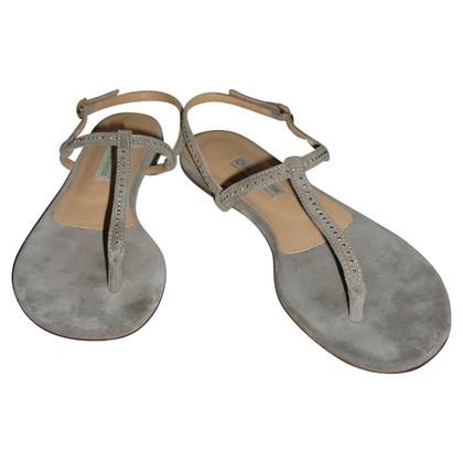 L'autre Chose sandali in camoscio