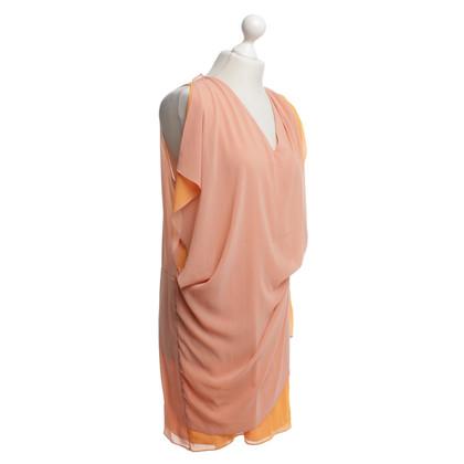 Acne Orangefarbenes Kleid
