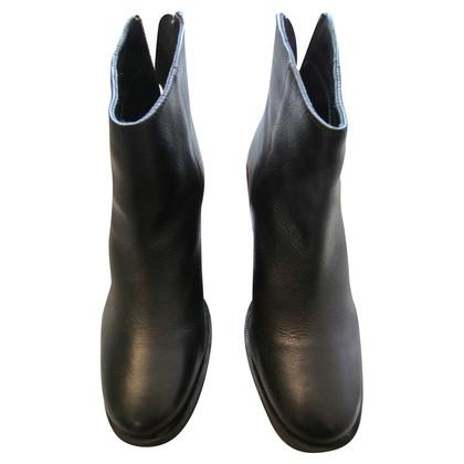 Kurt Geiger Bottines en cuir noir