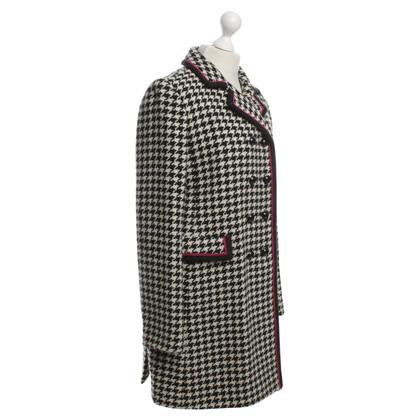Strenesse Wollen jas in zwart / White