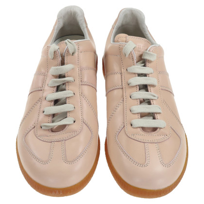 Maison Martin Margiela Lace-up shoes in nude