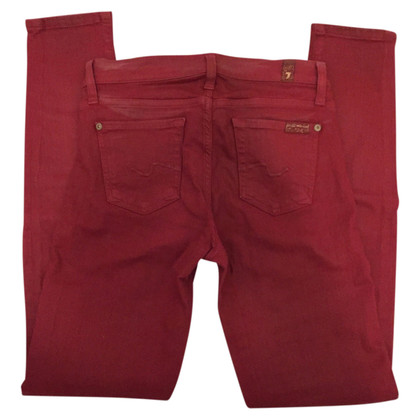 7 For All Mankind Jeans in red