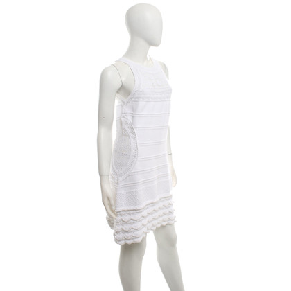 Roberto Cavalli Robe en blanc