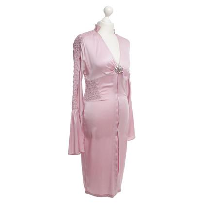 Gucci Smocked silk dress