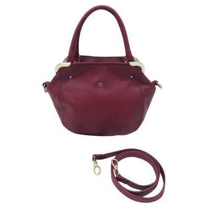 Aigner Lilac colored shoulder bag
