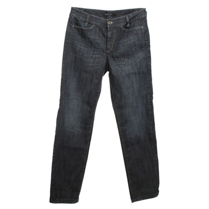 Marc Cain Stonewashed Jeans in Blau