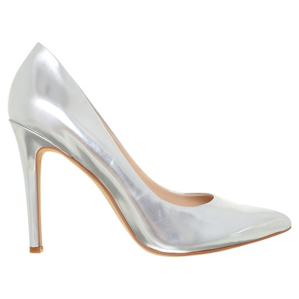 Vince Camuto Silberfarbene Pumps
