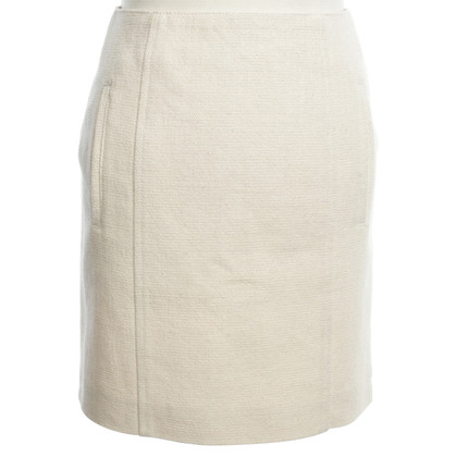 Carven Cotton skirt in cream