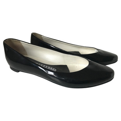 Fratelli Rossetti Black patent leather ballerinas