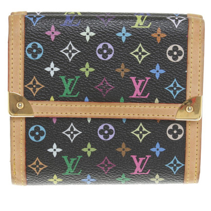 Louis Vuitton Wallet from Monogram Multicolore Canvas
