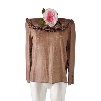 Red Valentino brown shirt with flower
