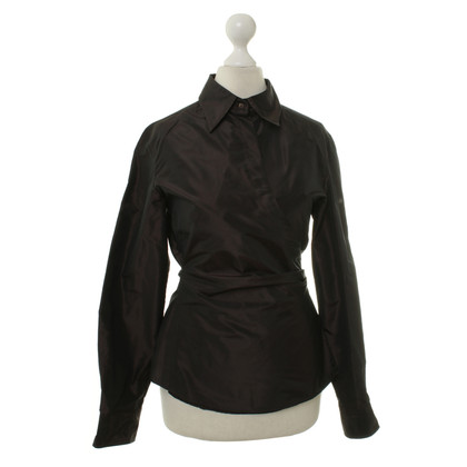 Max Mara Wrap blouse silk