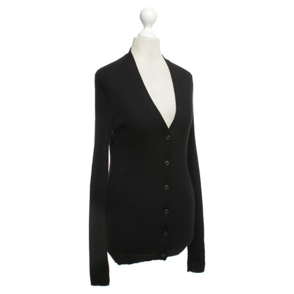 Prada Strickjacke in Schwarz