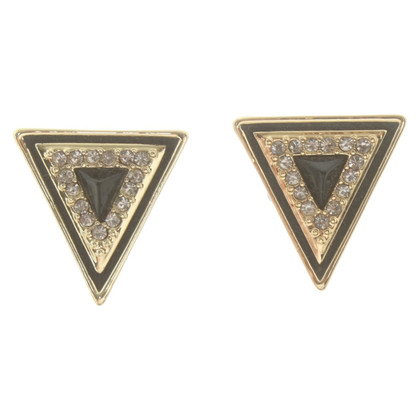 House of Harlow Earrings with application