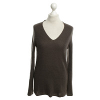 Iris von Arnim brown sweater