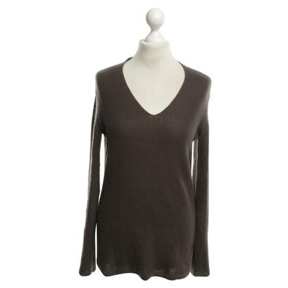 Iris von Arnim brown sweater